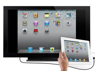 Cách kết nối iPad với tivi