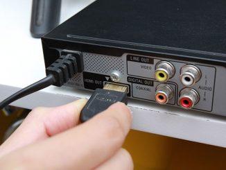 Cách kết nối tivi với đầu DVD qua cổng HDMI