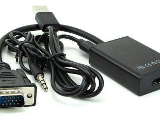Laptop không có cổng HDMI, làm sao để kết nối với tivi