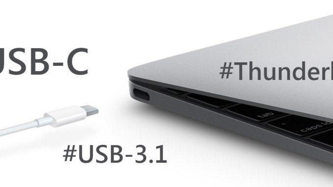 USB Type-C có công nghệ Thunderbolt